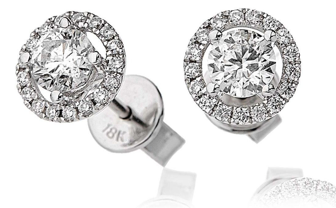 Bje0029 Wg 0 85 Cts 18 Ct Centre 70 Ct