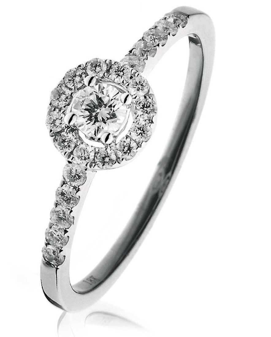 Bjr0070 0 40 Cts 18 Ct Centre 15 Ct