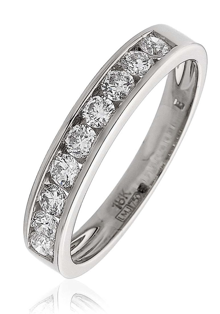 Bjr0131 Wg 0 50 Cts 18 Ct