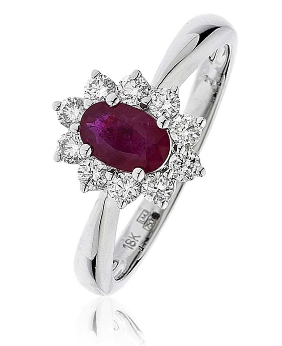 Bjr0248 Ry 1 00 Cts 18 Ct Centre 0 65 Ct