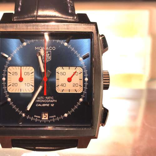 Tag Heuer Monaco Chronograph Watch
