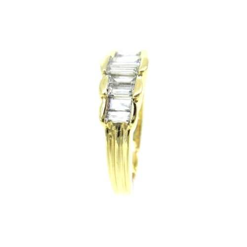 Ten Stone Diamond Ring