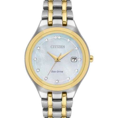 Citizen Ladies' Silhouette Diamond Watch