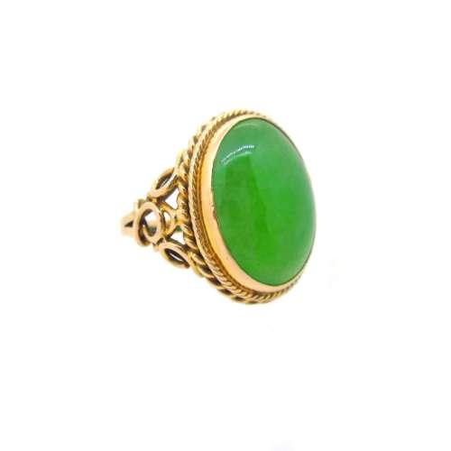 Vintage Jade Ring