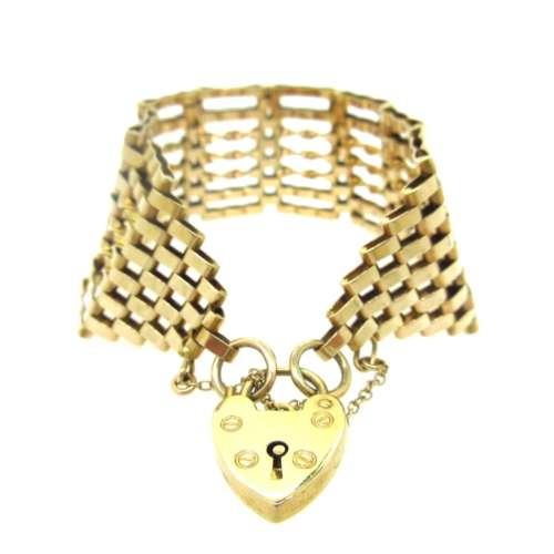 Gold Gate Bracelets