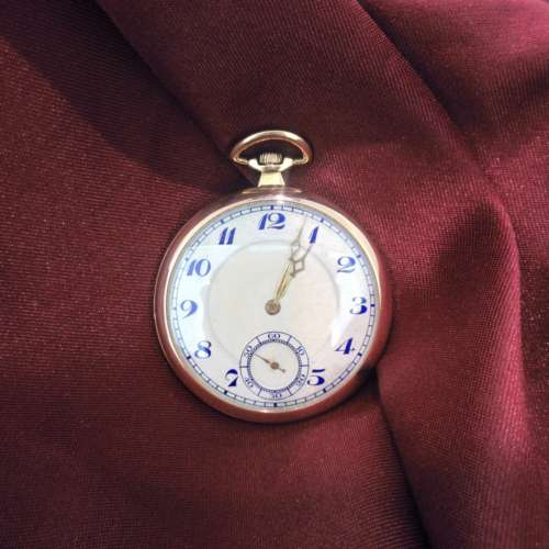 Continental 1930s Pocket Watch