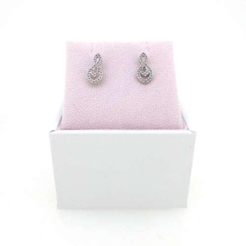 Hot Diamonds Silver Earrings