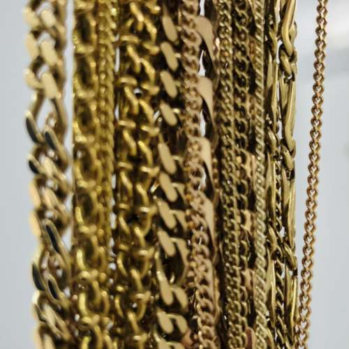 White & Yellow Gold Necklaces
