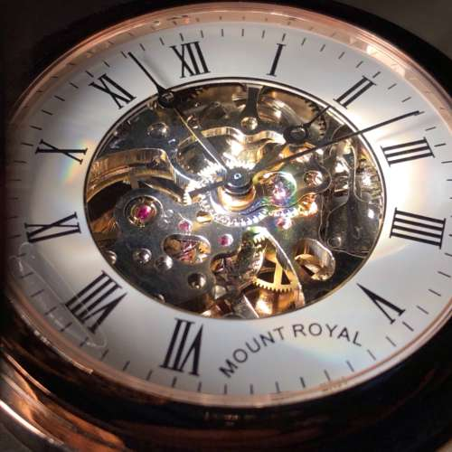Mount Royal Half Hunter Pocket Watch
