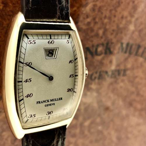 Franck Muller Jump Hour 18ct Gold Watch