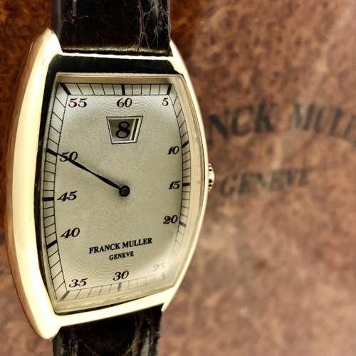 Franck Muller Jump Hour 18ct Gold Watch