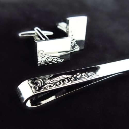 Cufflink & Tie Slide Gift Set