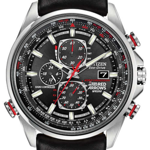 Gents Eco-Drive Red Arrows Chronograph Watch