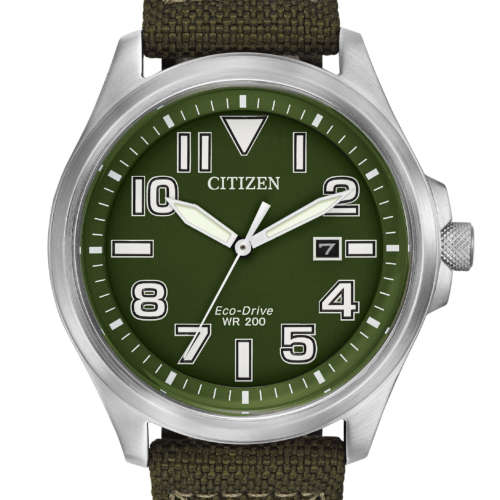 Gents Eco-Drive Green Sports Watch