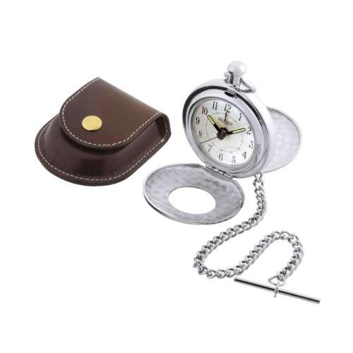 Half Hunter Pocket Watch & Alarm