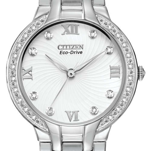 Ladies Eco-Drive Diamond Set Watch