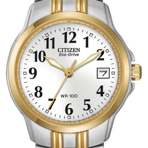 Ladies Eco-Drive Two-Tone Watch