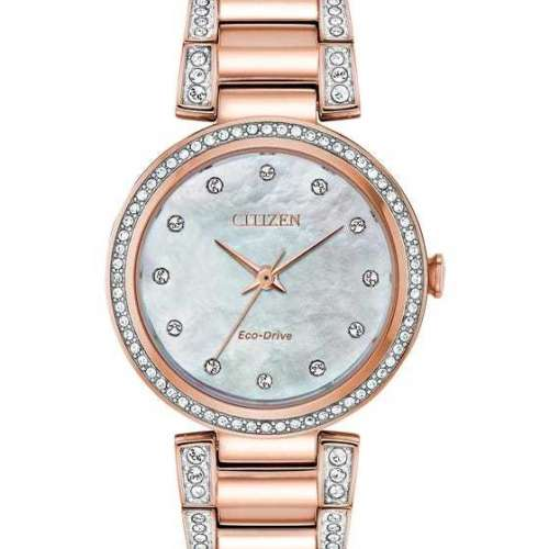 Citizen Ladies Silhouette Crystal Watch