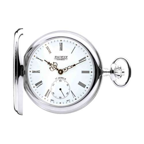 Silver Half Hunter Pocket Watch