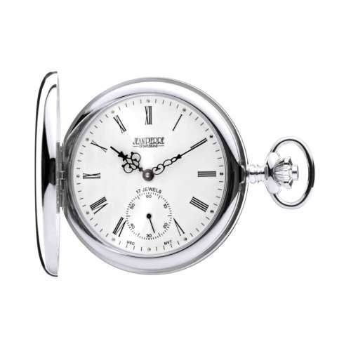 Silver Hunter Pocket Watch