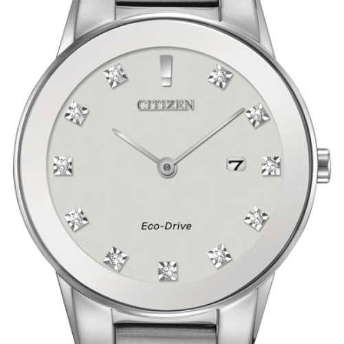Ladies Eco-Drive Diamond Watch
