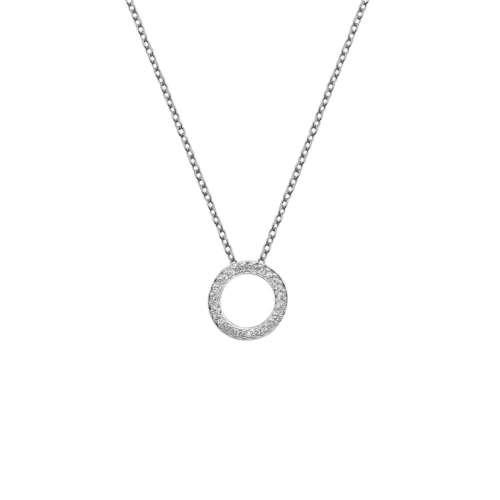 Bliss Circle Pendant Necklace