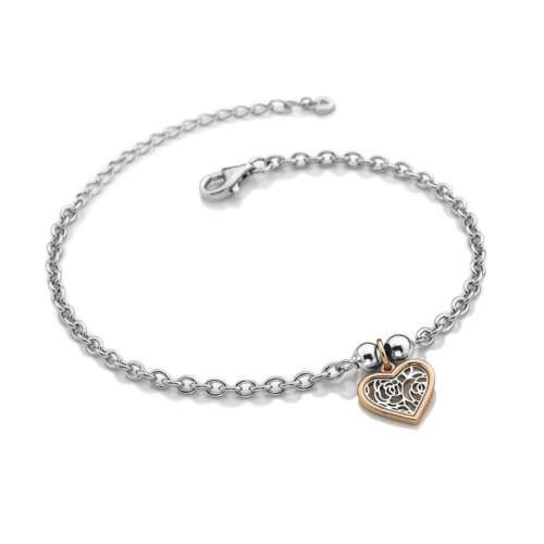 Faith Heart Bracelet