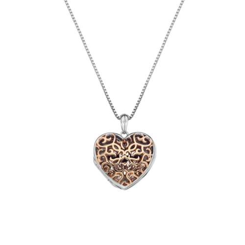 Shelter Small Filigree Heart Locket
