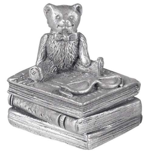 Pewter Winnie The Pooh First Tooth Box