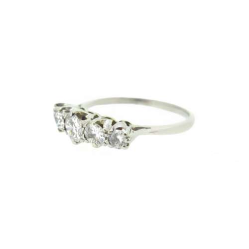 Antique Five Stone Diamond Ring