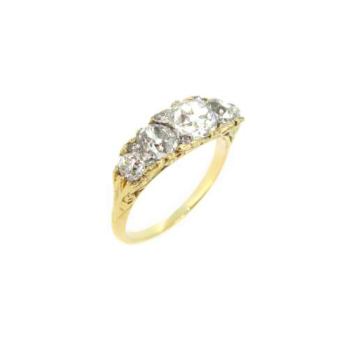 Antique Diamond Five Stone Ring