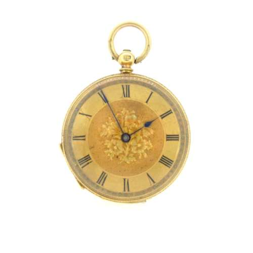 Antique 18ct Gold Pocket Watch