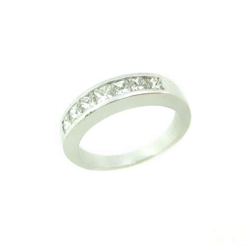 Princess Cut Diamond Seven Stone Ring
