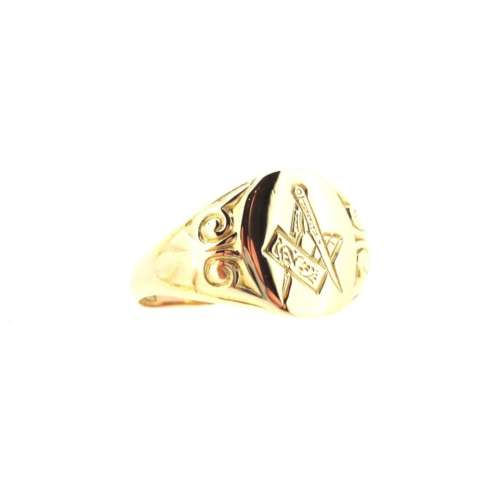 Gents Masons Signet Ring