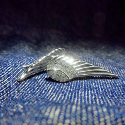 Silver & Cubic Zirconia Climber Earrings