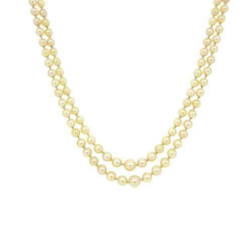 Pearl Necklace Double Strand