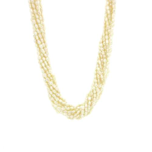 Pearl Necklace Multi Strand