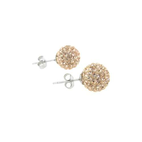 Cubic Zirconia Silver Earrings