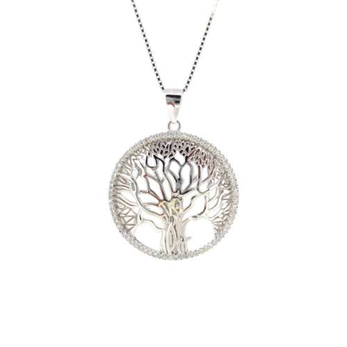 Silver 'Tree Of Life' Necklace