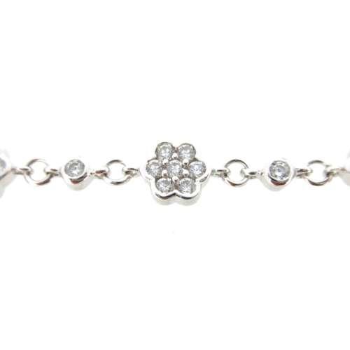 Silver & Cubic Zirconia Bracelet