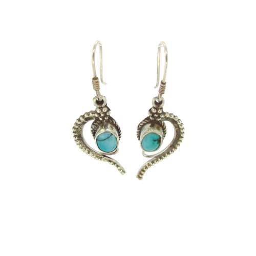 Silver & Turqouise Earrings