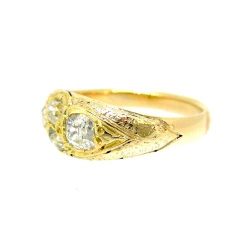 Antique 18ct Diamond Ring