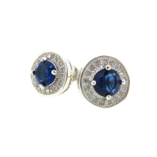 Silver & Cubic Zirconia Earrings