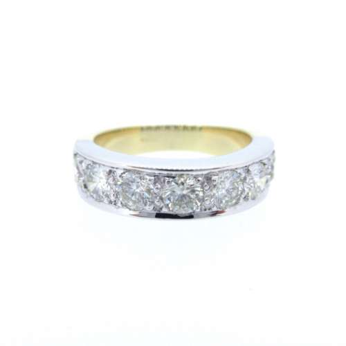 Diamond Seven Stone Eternity Ring